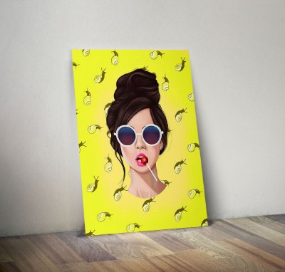 Plaquinha Decorativa - Mulher