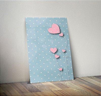 Plaquinha Decorativa - Coração