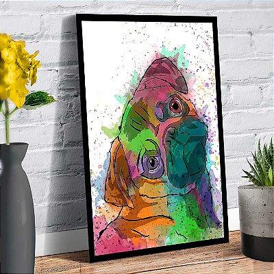 Plaquinha Decorativa - Cachorro Pug