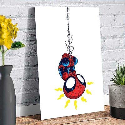 Plaquinha Decorativa - Marvel Homem Aranha