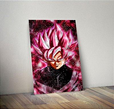 Plaquinha Decorativa - Dragon Ball Goku Black
