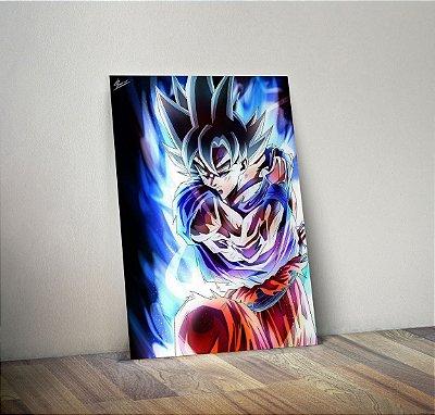 Plaquinha Decorativa - Dragon Ball Goku