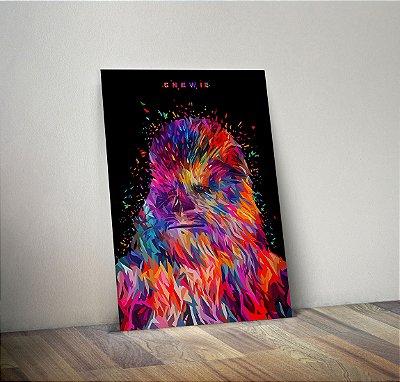 Plaquinha Decorativa - Star Wars Chewbacca