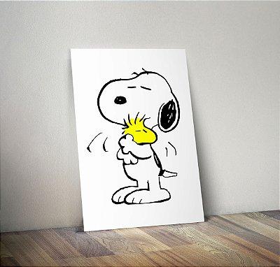 Plaquinha Decorativa - Snoopy