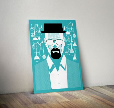Plaquinha Decorativa - Breaking Bad
