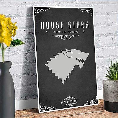 Plaquinha Decorativa - GOT Stark