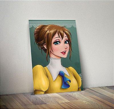 Plaquinha Decorativa - Princesas Jane