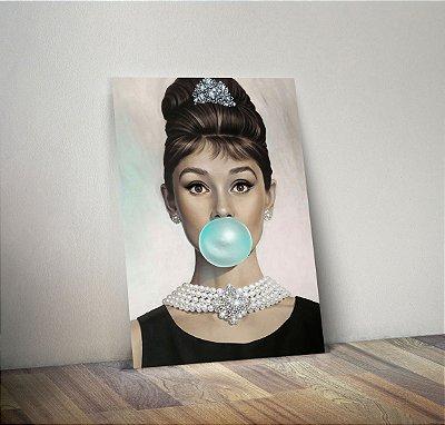 Plaquinha Decorativa - Audrey Hepburn