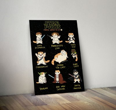 Plaquinha Decorativa - Star Wars