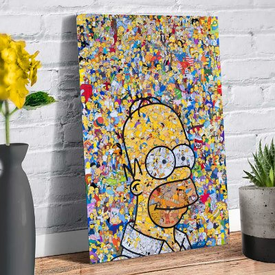 Plaquinha Decorativa - Simpsons Homer
