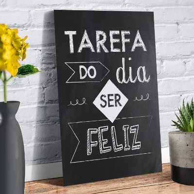 Plaquinha Decorativa - Frase