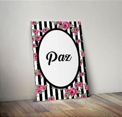 Plaquinha Decorativa - Paz