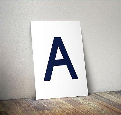 Plaquinha Infantil - Letra Personalizada