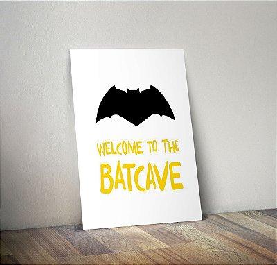 Plaquinha Infantil - Batcave