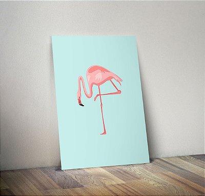 Plaquinha Infantil - Flamingo