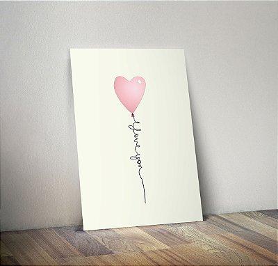 Plaquinha Infantil - Coração