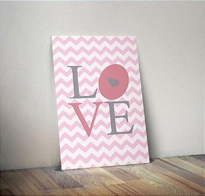 Plaquinha Infantil - Love