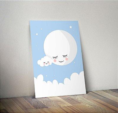 Plaquinha Infantil - Lua