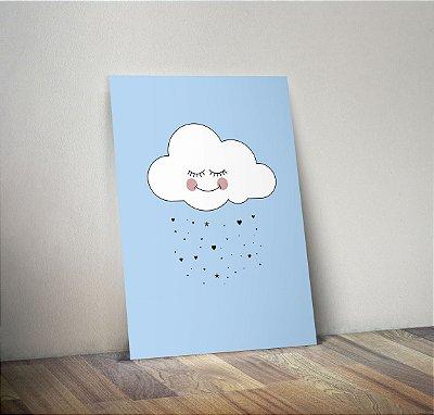 Plaquinha Infantil - Nuvem