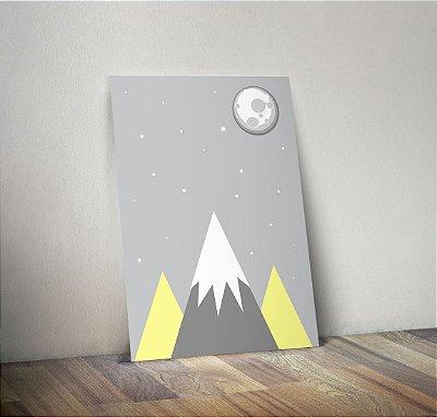 Plaquinha Infantil - Montanhas