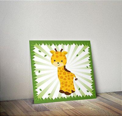 Plaquinha Infantil - Girafa
