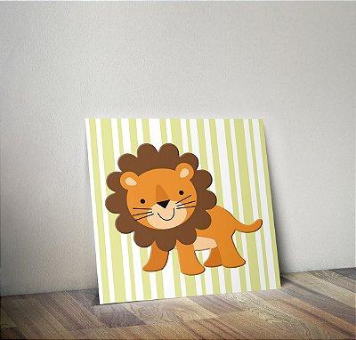 Plaquinha Infantil - Leão