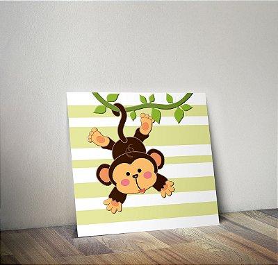 Plaquinha Infantil - Macaco