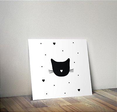 Plaquinha Infantil - Gato