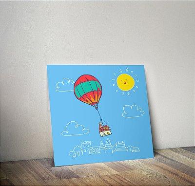 Plaquinha Infantil - Balão