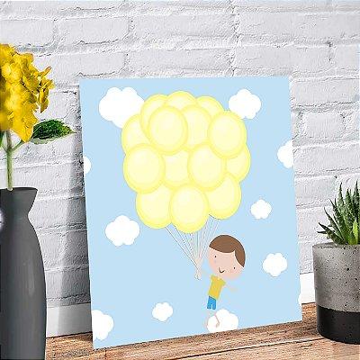 Placa Decorativa Decoração Infantil Menino