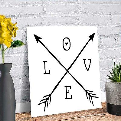 Placa Decorativa Decoração Infantil Love