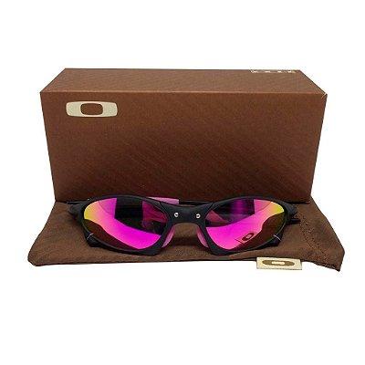 Oculos Oakley - Penny Juliet Black Lente Rosa Polarizada