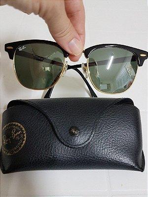 Óculos Ray ban Clubmaster Preto