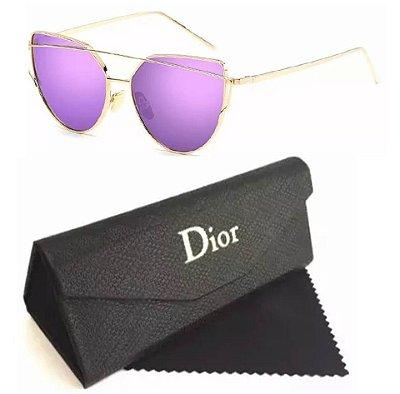 Óculos Dior Starlight Feminino Lentes Lilas