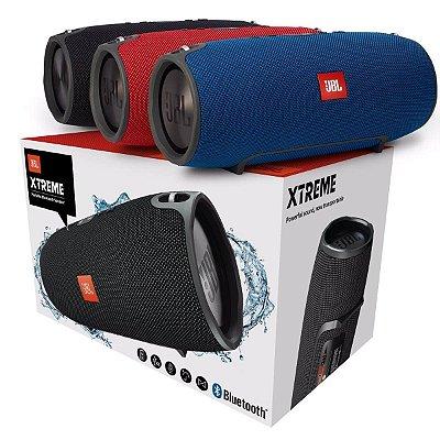 Caixa Som Bluetooth Xtreme Mini Potente 30w Rms Radio Fm