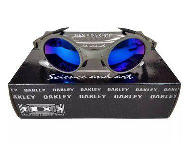 Oculos Oakley Mars Medusa X-metal Azul +certificado+teste