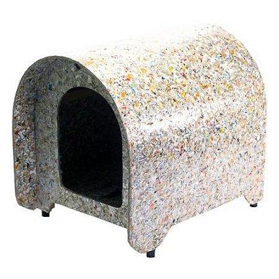 Casinha para cachorro 100% reciclável