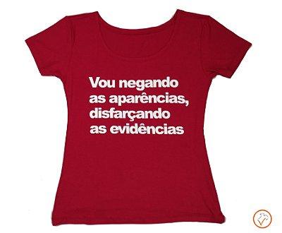 """T-shirt """"trechos musicais"""""""