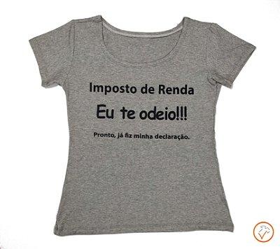 "T-shirt ""Imposto de renda"""