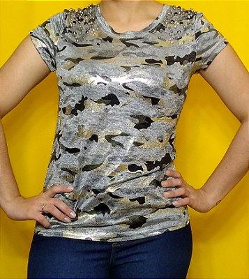 """T-shirt """"Camuflada pedraria"""""""