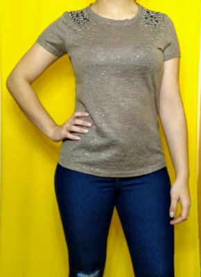 "T-shirt "" Pedraria Brilho"""
