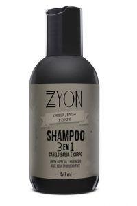 SHAMPOO 3X1 ZYON 150ML