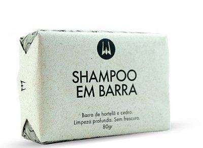 SHAMPOO PARA BARBA EM BARRA POSEIDON 80G