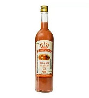 Licor de cachaça sabor doce de leite - Rainha da cana - 700 Ml