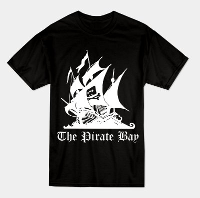 Camiseta Pirate Bay