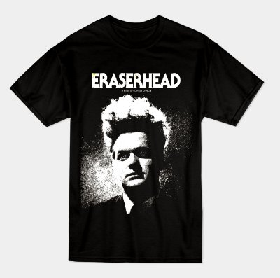 Camiseta Eraserhead