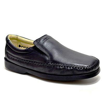 Sapato Social Amazonas Em Couro 5300-1 Preto