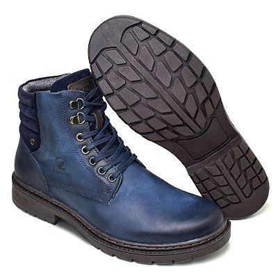 Coturno Amarok Defender 780 Em Couro Cor Jeans
