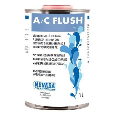 FLUSHING para Lavagem e Desinfecção interna Lata 1 Litro NEVADA QUI0043 - Substituto 141b