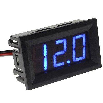 LCD DIGITAL VOLTIMETRO LUZ AZUL / VERMELHA GBMAK MP0022